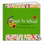 8x8 (39 pages) : Back to School - 8x8 Photo Book (39 pages)