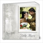 Our Wedding 8x8 Book (60 Pages) White - 8x8 Photo Book (60 pages)