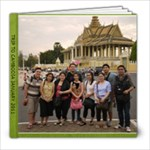 CAMBODIA - 8x8 Photo Book (20 pages)