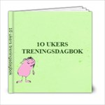 Treningsdagbok versjon 3 - 6x6 Photo Book (20 pages)