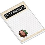 Determined Large Memo Pad - Large Memo Pads