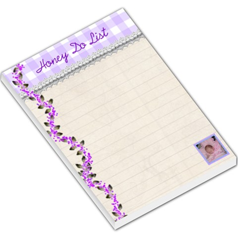 Honey Do List Memo Pad Large By Kim Blair   Large Memo Pads   Rlvmry6qnb1t   Www Artscow Com