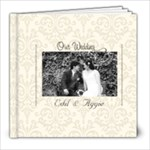 8x8 (60 pages): Minimalist (Wedding/Engagement) - 8x8 Photo Book (60 pages)