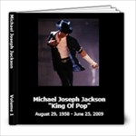 My Memorial to Michael - 8x8 Photo Book (100 pages)