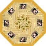 Folding Umbrella- Yellow Flowers