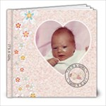 It s A Girl 8x8 60 Page Photo Book - 8x8 Photo Book (60 pages)