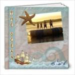 The Ocean 8x8 60 Page Photo Book - 8x8 Photo Book (60 pages)