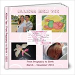 Allison Birth - 8x8 Photo Book (60 pages)