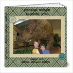 Blanding Dino August 2011 - 8x8 Photo Book (39 pages)