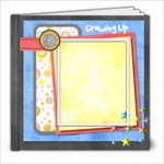 Growing Up - 8x8 60pgs - boy - 8x8 Photo Book (60 pages)