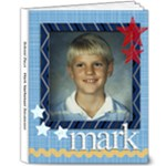 Mark - School Days - 8x10 Deluxe Photo Book (20 pages)