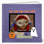 12x12 (40 pages): Happy Halloween - 12x12 Photo Book (40 pages)