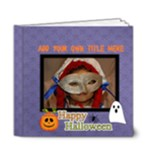 6x6 (DELUXE): Happy Halloween - 6x6 Deluxe Photo Book (20 pages)
