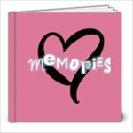 8x8 Basic Pink - 8x8 Photo Book (20 pages)