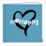 8x8 Basic Blue - 8x8 Photo Book (20 pages)