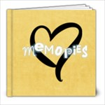 8x8 Basic Yellow - 8x8 Photo Book (20 pages)