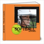 Softball 8x8 book - 8x8 Photo Book (20 pages)