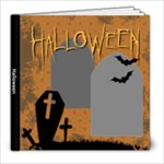 Halloween Photo BOOK - 8x8 Photo Book (20 pages)