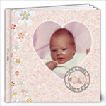 Its A Girl 12x12 60 Page Photo Book - 12x12 Photo Book (60 pages)