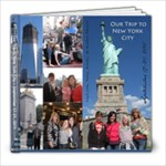 NYC 2011 - 8x8 Photo Book (20 pages)
