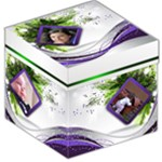 Purple Christmas Storage Box - Storage Stool 12