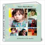 third album Tien background les - 8x8 Photo Book (60 pages)