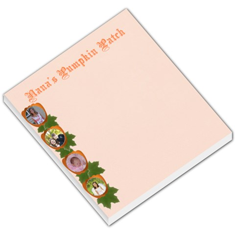Pumpkin Patch Small Memo Pad By Kim Blair   Small Memo Pads   1rmywz3i65nf   Www Artscow Com