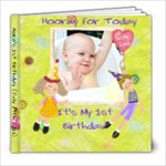 1st birthday - 8x8 Photo Book (20 pages)