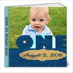 Elijah s Birthday Book 80 page 8x8 - 8x8 Photo Book (80 pages)