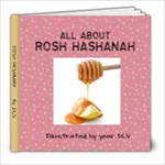 Rosh Hashanah Book by 1CV - 8x8 Photo Book (20 pages)