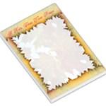 falling leaves large Memo pad - Large Memo Pads