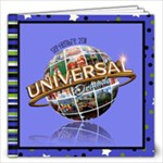 UNIVERSAL STUDIOS 2011 - 12x12 Photo Book (20 pages)