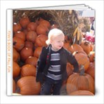 pumpkin farm - 8x8 Photo Book (20 pages)