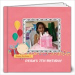 12x12 (40 pages): Happy Birthday - Girl - 12x12 Photo Book (40 pages)