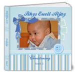 Rhys Euell Aljay Christening Book 2 - 8x8 Deluxe Photo Book (20 pages)