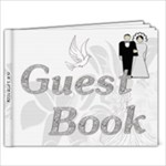 Wedding 11x8.5 Guest Book - 11 x 8.5 Photo Book(20 pages)
