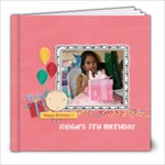 8x8 (20 pages): Happy Birthday - Girl - 8x8 Photo Book (20 pages)
