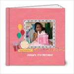 6x6 (20 pages): Happy Birthday - Girl - 6x6 Photo Book (20 pages)