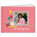 11 x 8.5 (20 pages): Happy Birthday - Girl - 11 x 8.5 Photo Book(20 pages)