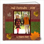 Fall Portraits - 2011 - 8x8 Photo Book (20 pages)