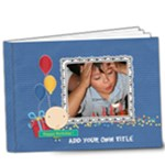 9x7 DELUXE: Happy Birthday - Boy - 9x7 Deluxe Photo Book (20 pages)
