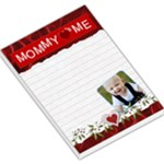 Mommy Loves Me Red Large Memo Pad - Large Memo Pads