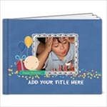 7x5 (20 pages): Happy Birthday Brag Book- Boy - 7x5 Photo Book (20 pages)