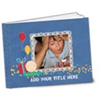 7x5 DELUXE: Happy Birthday Brag Book - 7x5 Deluxe Photo Book (20 pages)