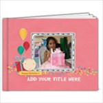 7x5 (20 pages): Happy Birthday Brag Book- girl - 7x5 Photo Book (20 pages)