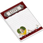 Love Red Large Memo Pad - Large Memo Pads