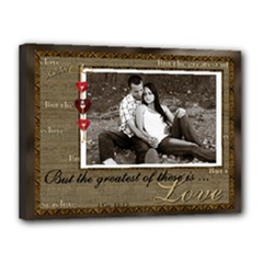 Greatest Love 16x12 Stretched Canvas - Canvas 16  x 12  (Stretched)