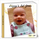 Lizzie 1st - 2nd edition - 12x12 Photo Book (30 pages)