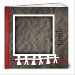 8X8 Family 20 page  - 8x8 Photo Book (20 pages)