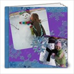 Snowflakes 6x6 30page Template - 8x8 Photo Book (30 pages)